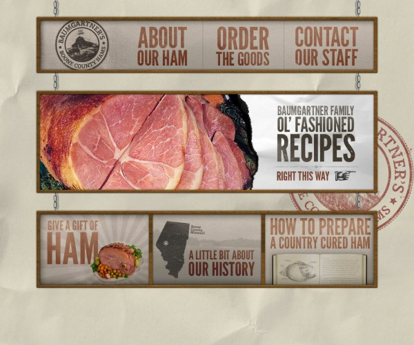 Boone County Ham Website Design