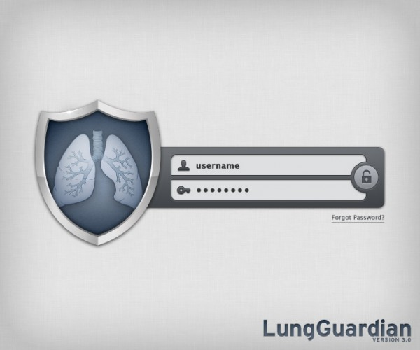 LungGuardian Interface Design